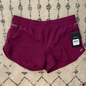 NWT - ASICS running shorts